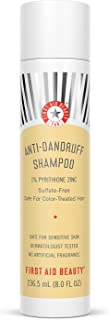 First Aid Beauty FAB Anti-Dandruff Shampoo – Fights Flakes, Soothes Scalp And Leaves Hair Looking Healthy – 8 oz