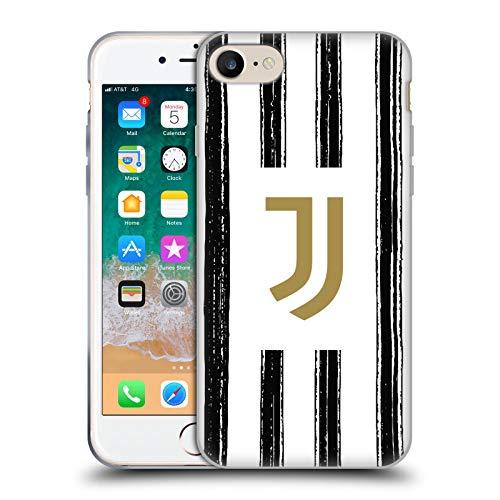 Head Case Designs Offizielle Juventus Football Club Home 2020/21 Match Kit Soft Gel Handyhülle Hülle Huelle kompatibel mit Apple iPhone 7 / iPhone 8 / iPhone SE 2020