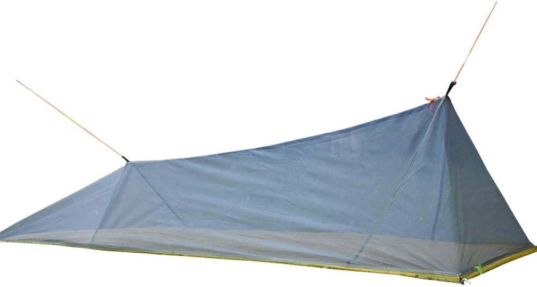 Ashuang Ultraleichtflugzeuge Im Freien Camping Innenzelt Sommer 1 Einzelne Person Mesh Zelt Krper Innenzelt Entlüftungsffnungen Moskitonetz