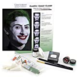 Graftobian Classic Chaos Clown Makeup Kit - Complete 10 Piece Set for Joker Jester or Clown Halloween Costume - Full Color Instructions (Standard)