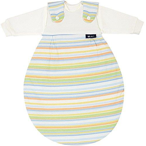 Alvi Baby Mäxchen Außensack bunter Streifen blau Größe 86/92 118-0