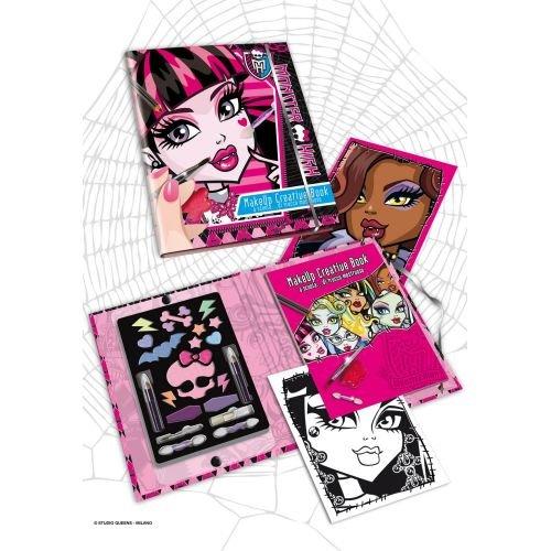 Maquillaje creativo Monster High