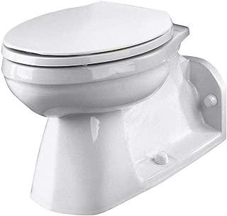 Ultra Flush Floor Mount Back Outlet Bowl