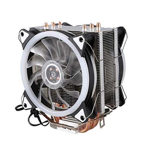 Ventilador de enfriamiento de Alto Rendimiento Radiador de la CPU 4 Cobre Puro 12cm Heat Pipe Torre de refrigeración Sistema de Dos 12cm Ventilador de la CPU CPU de refrigeración del radiador