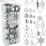 Top 10 White and Silver Christmas Ornaments