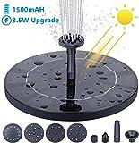 AISITIN 3.5W Solar Fountain Pump,...