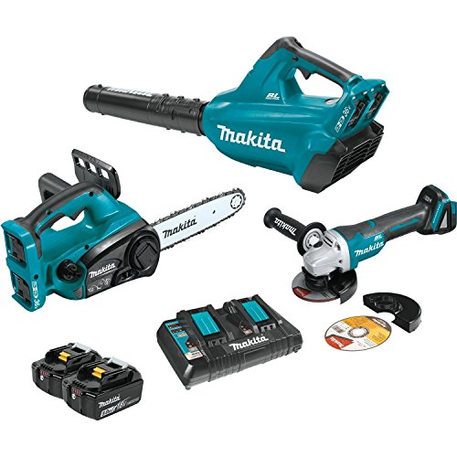 Find Discount Makita XT274PTX 18V X2 (36V) LXT Lithium-Ion Cordless 2-Pc. Combo Kit (5.0Ah) and Brushless Angle Grinder