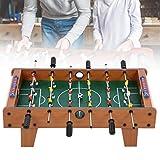 Gmkjh Futbolín, futbolín portátil, futbolín de Mesa de Madera Mini fútbol de Escritorio para Interiores Juego para Padres e Hijos Ejercicio para niños Juguete Educativo para niños