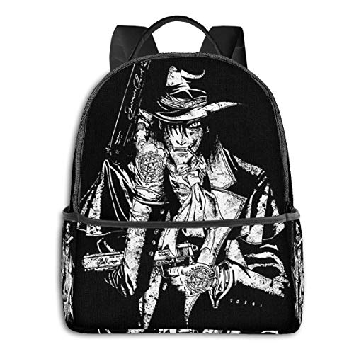 XCNGG Anime Hell Sing Classic Student School Bag School Cycling Leisure Travel Camping Outdoor Backpack