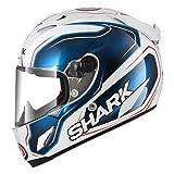Shark Casco Moto Race R Pro Replica Guintoli WBK, Blu, Taglia S