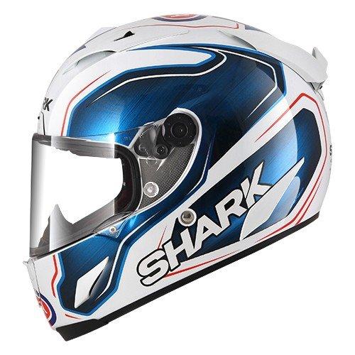 Casco moto Shark Race-R Pro Replica Guintoli WBK, Blu, S