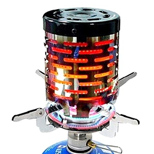 Josopa Mini Camping Stove Heater Draagbare RVS Verwarming Tent Warming Stove Cover voor Outdoor Backpacking Wandelen Camping Gas Stove Cover Heater