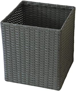 TIANLONG Storage basket Laundry Basket Storage Basket Plastic Woven Square 35 5 35 5 40cm