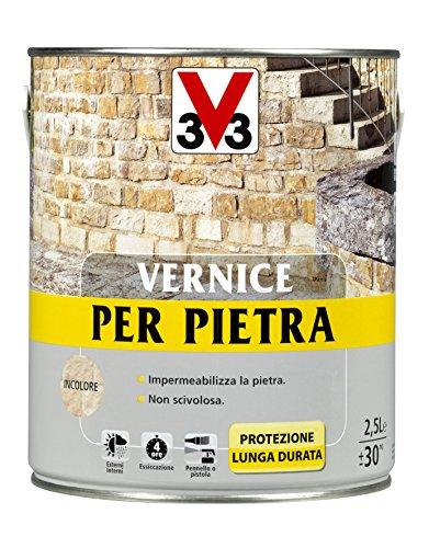 V33 Vernice Per Pietre Incolore 2,5 Lt