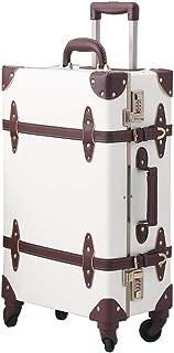 vintage hardside luggage