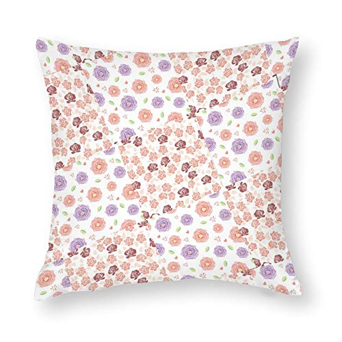 No Branded Pillow Cushion Covers 45 x 45 Pillow Cushion Covers 18 x 18,Plant Together Cushion Covers for Farmhouse Office Bedroom Living Family Game Study Dining Room Kitchen