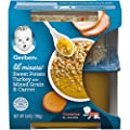 Gerber Purees Crawler Lil' Mixers Rice & Quinoa With Sweet Potato Turkey Mixed Grain, 6Count