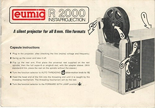 Eumig R 2000 Instaprojection Manual
