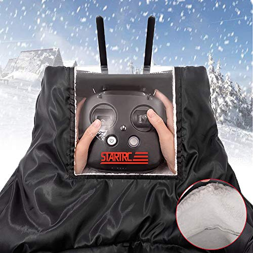 Flycoo handschoenen, afstandsbediening, tegen wind, voor DJI Mavic Mini/Pro/Air/Spark etc, waterdicht, warm, winterbescherming, bescherming tegen kou, paraplu, sneeuw