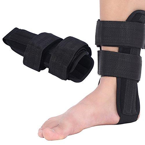 Tobillera Soporte de Tobillo Apoyo ortopédico Estabilizador del pie Ortesis Protector de Tobillo Lesión del esguince Férula Protectora(L)