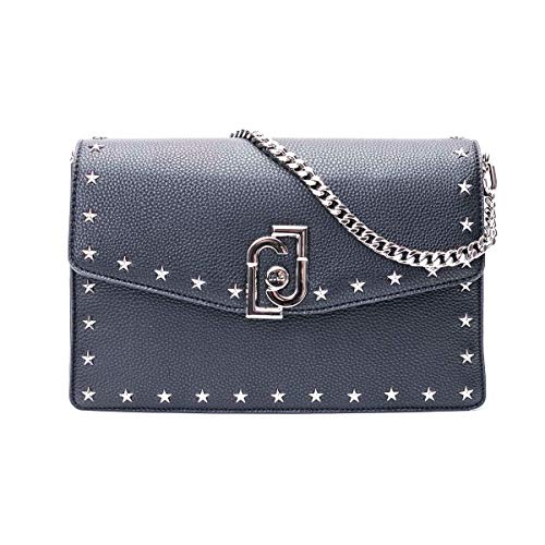 Luxury Fashion | Liu Jo Dames AA0036E001322222 Zwart Polyurethaan Handtassen | Lente-zomer 20