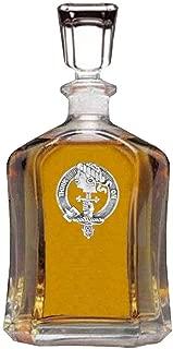 MacLellan Scottish Clan Badge Decanter