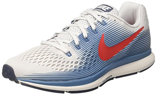 Nike Air Zoom Pegasus 34, Scarpe Running Uomo, Grigio (Vast Grey/University 016), 41 EU