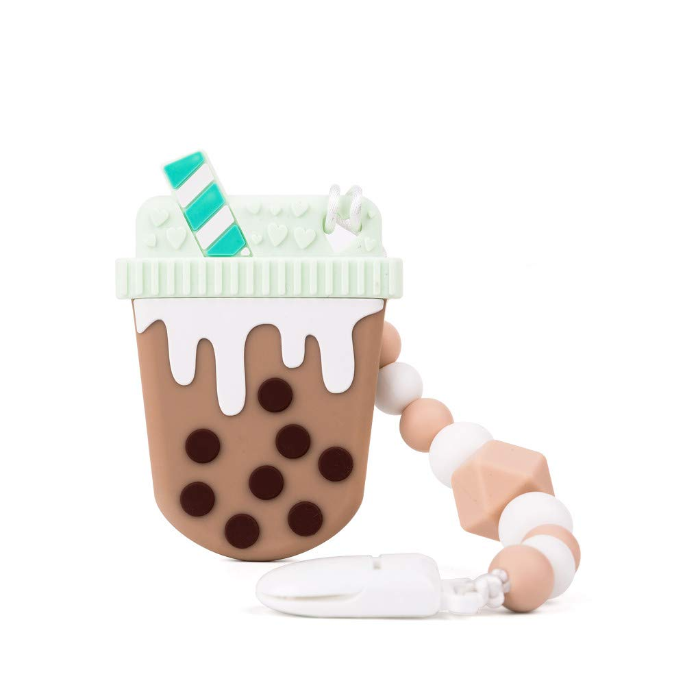 Baby Bubble Tea Teething Toys BPA Free Phoenix Mall Food safety Silicone Teeth Grade