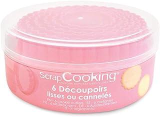 SCRAP COOKING 2021 Set de 6 Découpoirs Lisses ou Cannelés pour Biscuits
