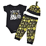 Unique Baby Boys Wake for The Ball Drop New Years Outfit Layette Set (6 Months)