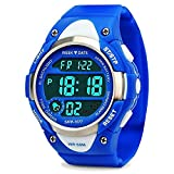 Boys Girls Sport Digital Watch, Kids Outdoor Waterproof Electronic Watches with LED Alarm Stopwatch