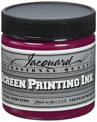 Jacquard JAC-JSI1141 Screen Printing Ink, 4 oz, Process Magenta