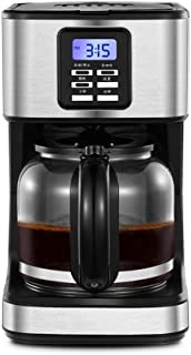 Filter Coffee M'ac'hine   800W   1.8 liter Coffee Maker for Instant Coffee, Espresso, Boil-Dry Protection, Anti-Drip Funct...