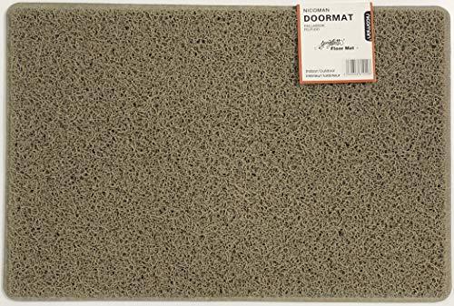 Nicoman Schmutzfänger Barrier Fußmatte schwere Bodenmatte-(Geeignet für Innen- und Schützen Außen), Läufermatte (150x60cm), Beige