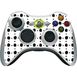 Skinit Decal Gaming Skin Compatible with Xbox 360 Wireless Controller - Originally Designed Grid Dot Design