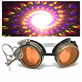 Steampunk Victorian Style Goggles with...