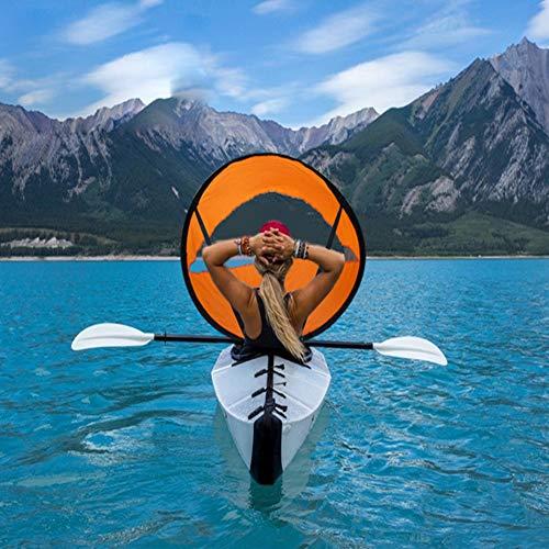 ACHICOO Kayak Barco Vela Plegable Portátil Barcos Remolcadores Transparente Ventana al Aire Libre Productos, Lake Blue