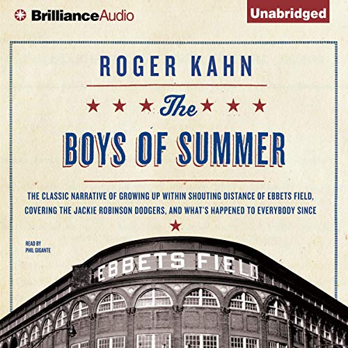 The Boys of Summer audiobook cover art