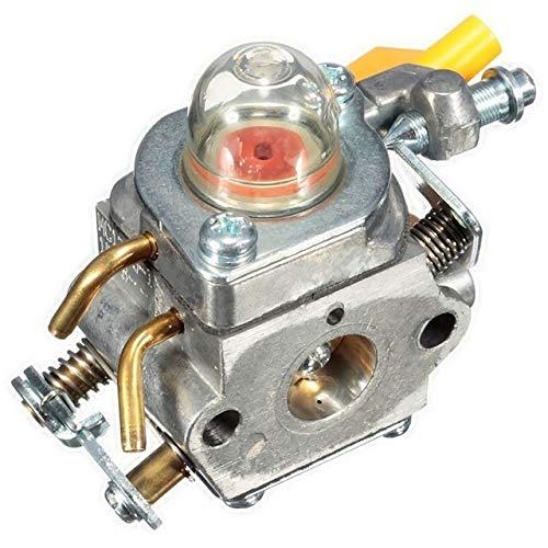 liutao Carburador Carburador for Homelite ZAMA RYOBI 308054003 3074504 985624001 C1U-H60 26CC 30CC Partes del Motor (Color : Silver)