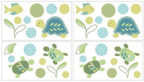 CoCaLo Turtle Reef Decals Green