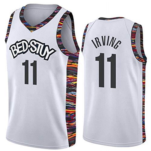 170CM // 50~65Kg TGSCX NBA Jersey Cleveland Cavaliers # 2 Irving Mangas de Baloncesto Camiseta de los Hombres de Moda Transpirable Chaleco,A,S