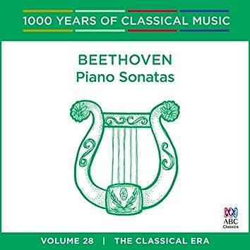 Beethoven: Piano Sonatas (1000 Years Of Classical Music, Vol. 28)