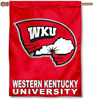 College Flags and Banners Co. Western Kentucky University Hilltoppers House Flag