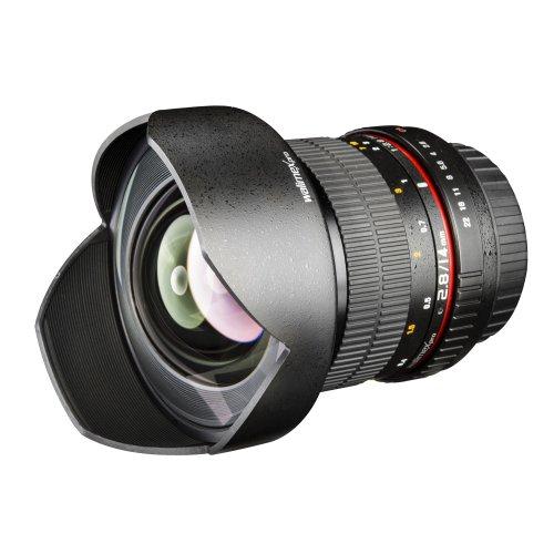 Walimex Pro 14 mm F/2.8 IF - Objetivo para cámara réflex Canon AF (filtro 86 mm), color negro