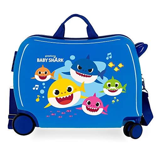 Valigia per bambini Baby Shark Ocean Sharks