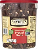 Snyder's of Hanover Pretzel Rods Old Fashioned, Large Canister, 27 Ounce