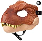 Jurassic World M?scara de juguete Tyrannosaurus Rex, modelos/colores aleatorios (Mattel FLY93)