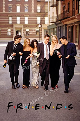 Posters USA Friends TV Series Show Poster GLOSSY FINISH - TVS096 (24' x 36' (61cm x 91.5cm))