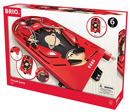 BRIO Spiele 34017 - Holz-Flipper Space Safari