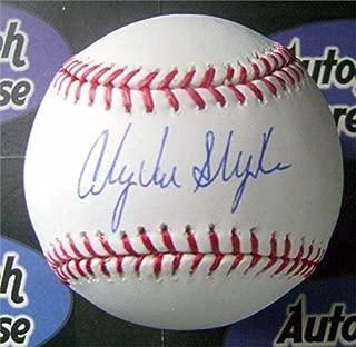 Andy Van Slyke Signed Baseball - OMLB Stl Cardinals) - Autographed Baseballs